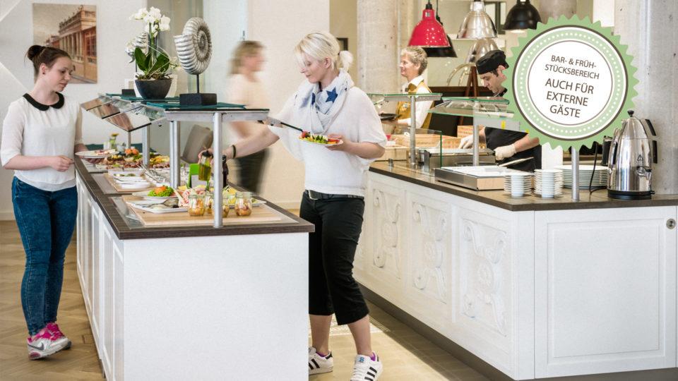 Fruehstuecksbereich_Buffet_Signet_Hotel_Inselhof_Borkum
